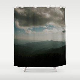 SPLENDOR OF THE SMOKIES Shower Curtain