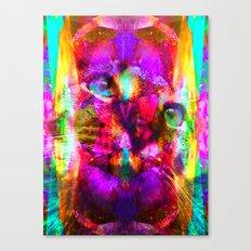 Crystal Cat - Sir Parker Canvas Print