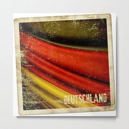 STICKER OF GERMANY flag Metal Print