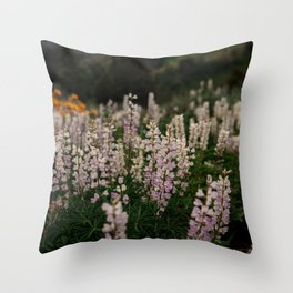 Flower Photography by Patrick Hendry Throw Pillow