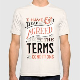 Terms and Conditions T-shirt