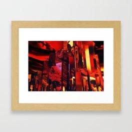 Q-City Six Framed Art Print