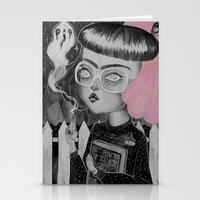 loll3 Stationery Cards featuring Strange and Unusual by lOll3