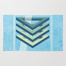 Four Triangles  Rug