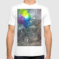 fabric of space MEDIUM Mens Fitted Tee White