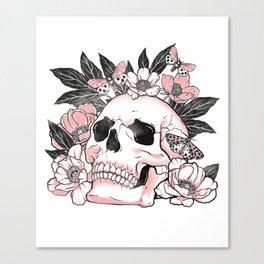 We are but mortals Canvas Print