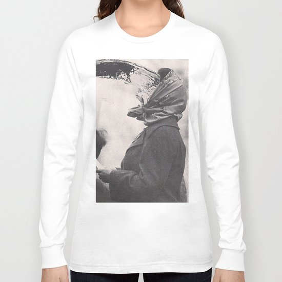 Human Water Fountain Long Sleeve T-shirt