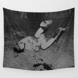 GG Allin on the floor Wall Tapestry
