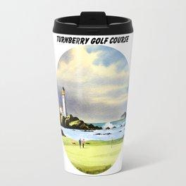 Turnberry Golf Course Scotland 10th Green Travel Mug