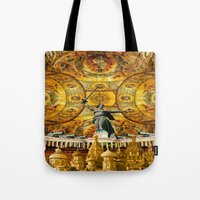russia Tote Bags featuring HISTORICAL RUSSIA by sametsevincer