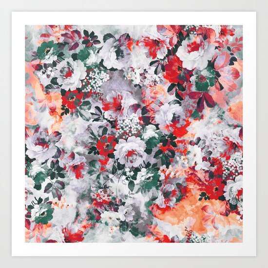 Beautiful Garden III Art Print