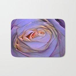Violet rose Bath Mat