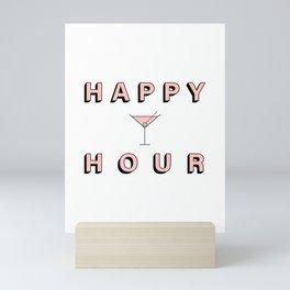 Happy Hour artwork Mini Art Print