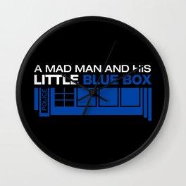 Mad man Wall Clock