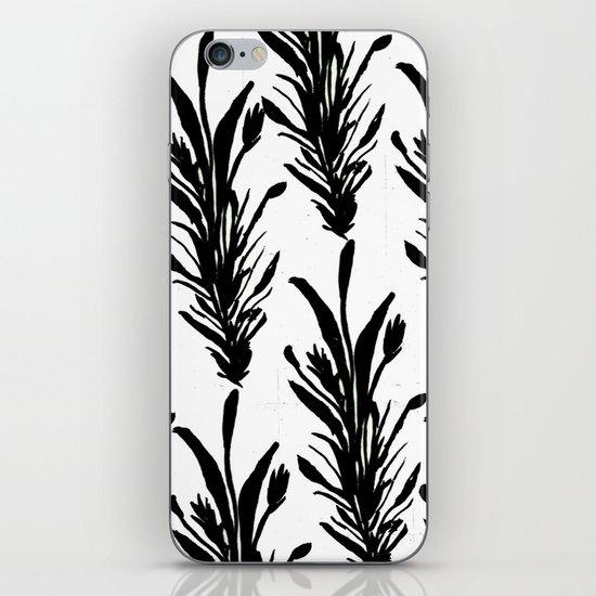 Black Leaves iPhone & iPod Skin