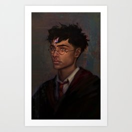 The Boy Who Lived Art Print