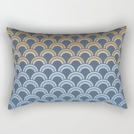 Fish Scale #1 Rectangular Pillow