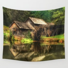 Mabry Mill Wall Tapestry