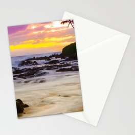 Paako Beach Sunset Jewel Stationery Cards