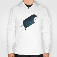 strong Hoodies featuring Space Melter by Zach Terrell