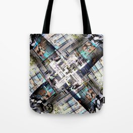 Pangs reap lifeline middle wad thyme (v. 1). Tote Bag