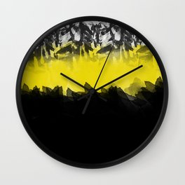 Honeybee Sketchy Watercolor Wall Clock