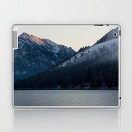 Last Light at Wallowa Lake Oregon Laptop & iPad Skin