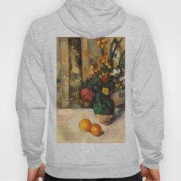 "Paul Cezanne ""Fleurs et pommes (Flowers and fruits)"" Hoody"