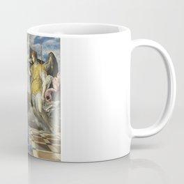 """El Greco (Domenikos Theotokopoulos) """"The Annunciation (1576)"""" Coffee Mug"""