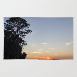 SunsetbytheLake Rug