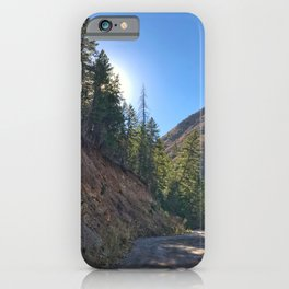 Light the Way - Red Mountain, Glenwood Springs, CO iPhone Case
