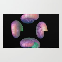 Four Shells Rug