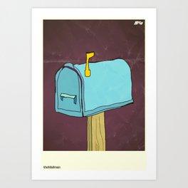 Mailman Art Print