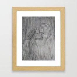 """Igloo"" Fine Art Pencil Drawing Framed Art Print"