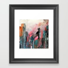 Magical City Framed Art Print