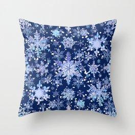 Snowflakes #3 Throw Pillow