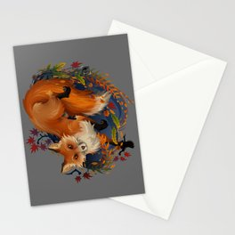 Sly Fox Spirit Animal Stationery Cards
