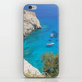 greek sea iPhone Skin