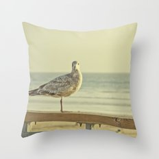 Beach Time Throw Pillow