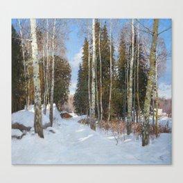 Finnish Farm Canvas Print