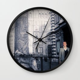 Bourgeoisie and Liberty Wall Clock