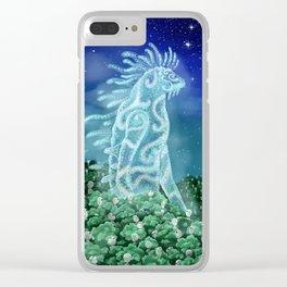 The Nightwalker (Princess Mononoke) Clear iPhone Case