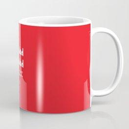 Wales Rugby Union national anthem - Mae Hen Wlad Fy Nhadau Coffee Mug