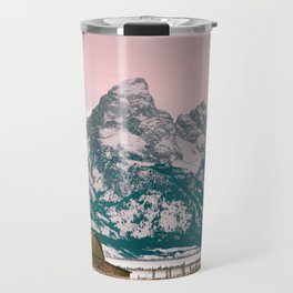 Grand Tetons Barn Travel Mug