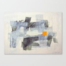 Orange Square Canvas Print