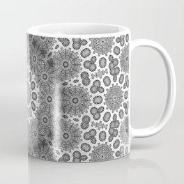 Magical black and white mandala 009 Coffee Mug