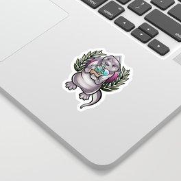 Otterrific Sticker