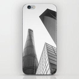 colorless shanghai 4 iPhone Skin