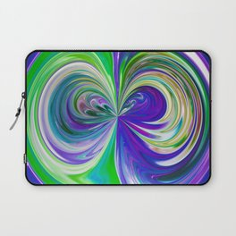 333 - Abstract Colour Orb Design Laptop Sleeve