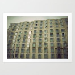 Berlin Buildings Art Print